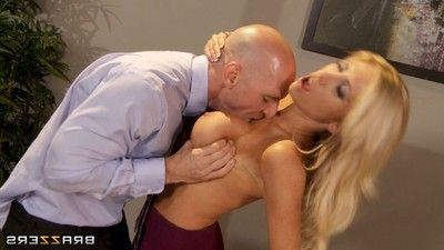Titsy secretary tasha reign anally drilled by her boss