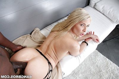 Crazy anal penetration for a lascivious hardcore fairy-haired Anikka Albrite