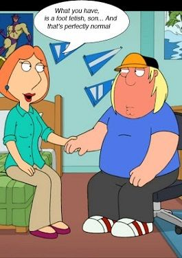 Lois Indulges a Family Foot Charm