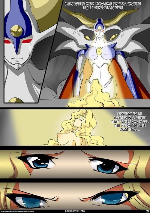 Zephir's Dark Secret (Magic Manly Rayearth) - part 2