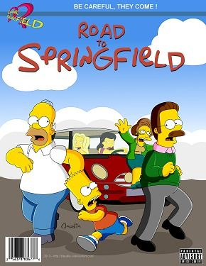 Simpsons- Road With respect to Springfield