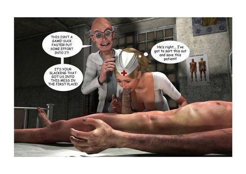 Holly's Freaky Encounters- Night Novelty Nurse - part 3