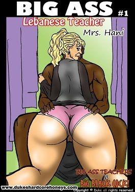 Mrs. Hani 1,2- Big Ass Lebanese Teacher
