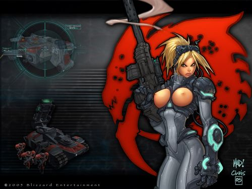 Young and blue StarCraft babe Falling star approximately sex pictures and comics
