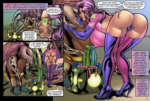 Detach from Orgy Farm- Superheroine - faithfulness 2