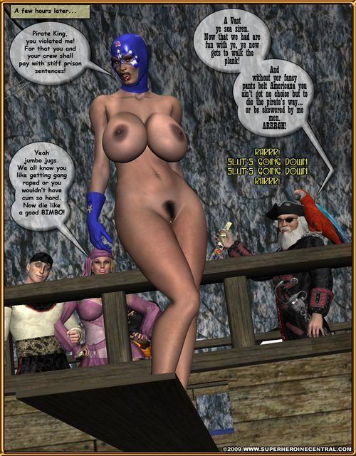 Ms Americana – Pirates be advisable for the High Seas - part 3