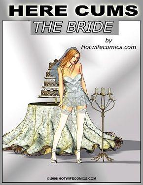 Here Cums The Bride- Interracial