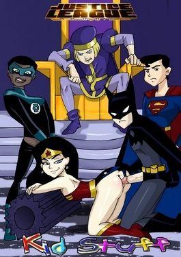 Justice League Unlimited- Kid Stuff