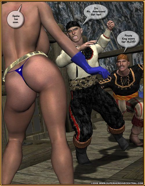 Ms Americana – Pirates of the waters - part 2