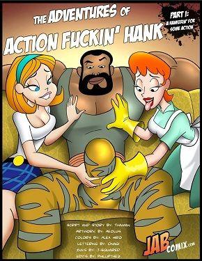 Adventures of Action Fuckin' Hank