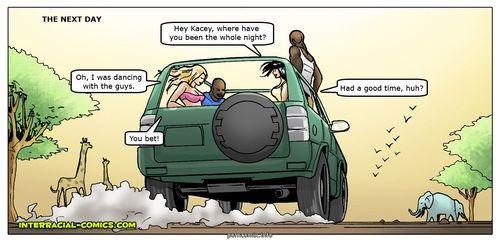 African Adventures- Interracial - part 2