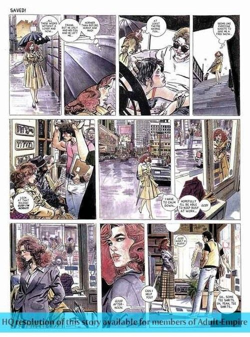 Hot matured comics in the matter of X indulge sucking dick