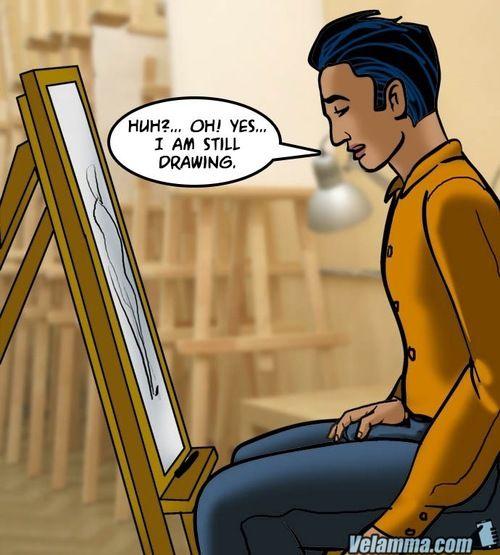 Velamma 62- A Piece be useful to Art - part 6