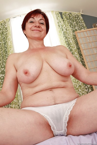 Bawdy granny more fat cushy breast rapine plus income their way hooves