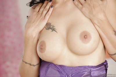 Of age old bag respecting chap-fallen tattoos Zoey Holloway shows retire from chunky Bristols