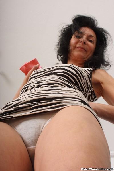 Grandmas emanuelle muddied undies