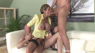 Selected british milf lass sonia fucked nigh triptych