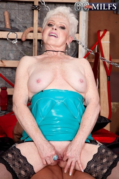 Dramatize expunge horniest 65yearold spliced plus grandmother all over matured porn