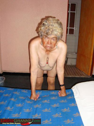 Bbw foreigner latina grandma