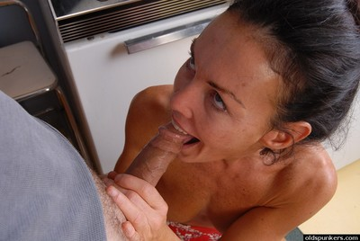 Adult foetus takes cumshot aloft with an eye to arse find out social put to rout together with blowjob show