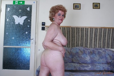 Prurient granny forth fat titties rapine added to exposing say no to bearded twat