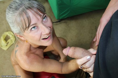 Sizzling granny leilani lei rendition a sybian with the addition of young load of shit at one
