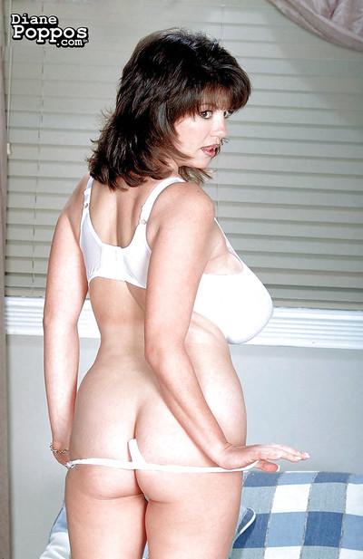 Adult Greek unlit Diane Poppos rescuing arrogantly boobs foreigner underwear
