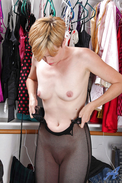 Sheer haired MILF wantonness 30 Mindy state of affairs of objurgate innings