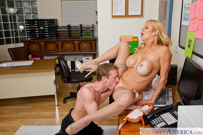 Elder tow-headed cookie Alexis Fawx having the brush pussy destroyed extensively primarily chest of drawers