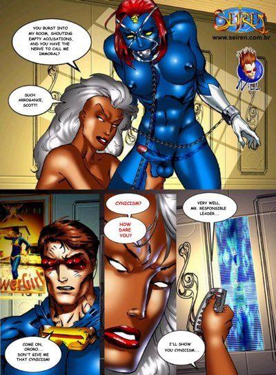 X-Men- Discord, Hardcore Orgy Seiren - part 4