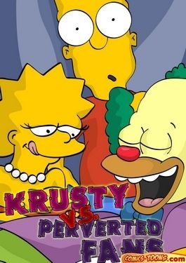 Krusty Vs Perverted Fans (The Simpsons)