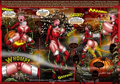 Big breasted sluts getting drilled till orgasm in comics