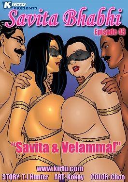 Savita Bhabhi 43- Savita & Velamma