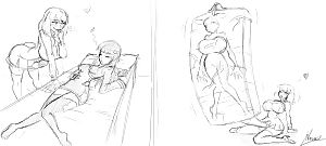 Natsumemetalsonic Sketches 2 - part 14