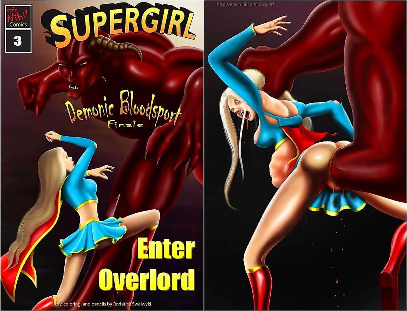 Supergirl- Demonic Bloodsport Part 3