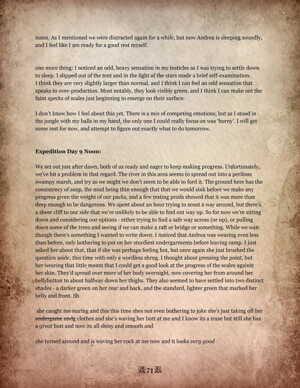 Morphological Monster Manual - part 4