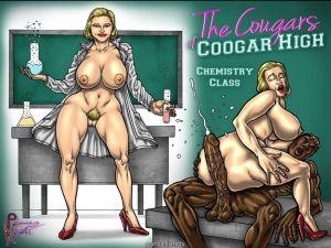 PleasureNight – The Cougars Of Coogar High