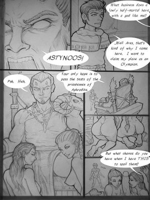 Astynoos And The 4 Priestesses Of Aphrod…