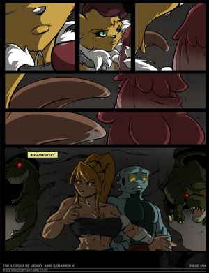 The Legend Of Jenny And Renamon 4 - part 3