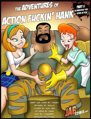 Jab Comix – Adventures of Action Fuckin' Hank