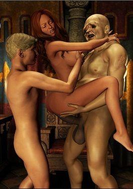 Joff Sansa and freak- Dubhgilla